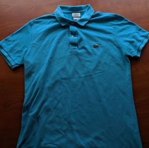 Light Blue Lacoste Size 5 Polo